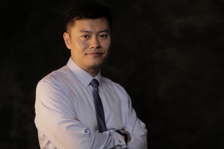 Jeff Zhu, vice-president of Dipont Education
