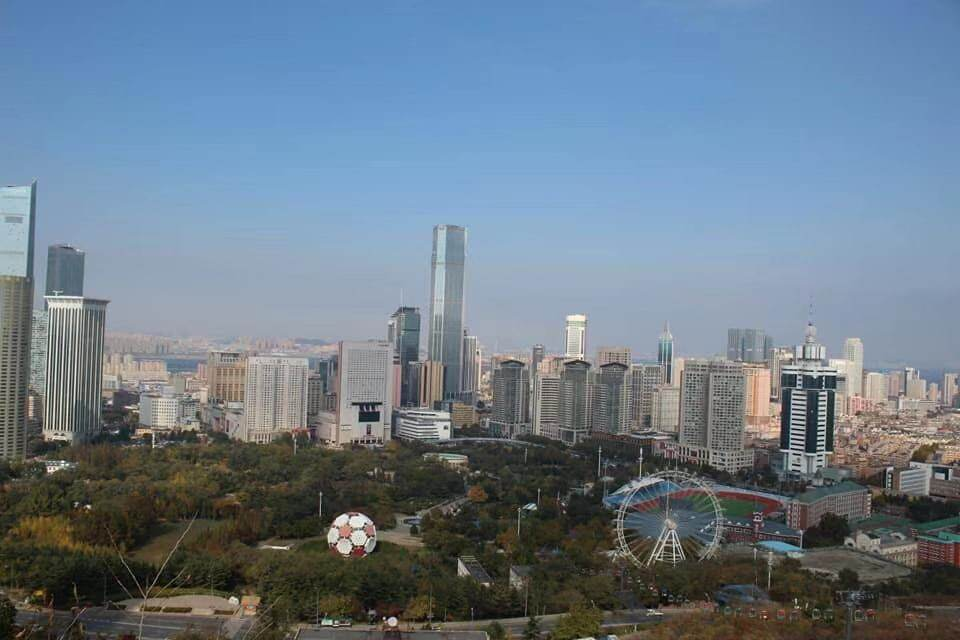 A cityscape of Dalian, China