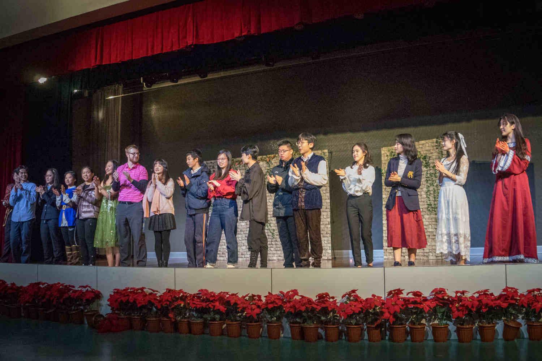 A drama performance at NLFS British Columbia Academy