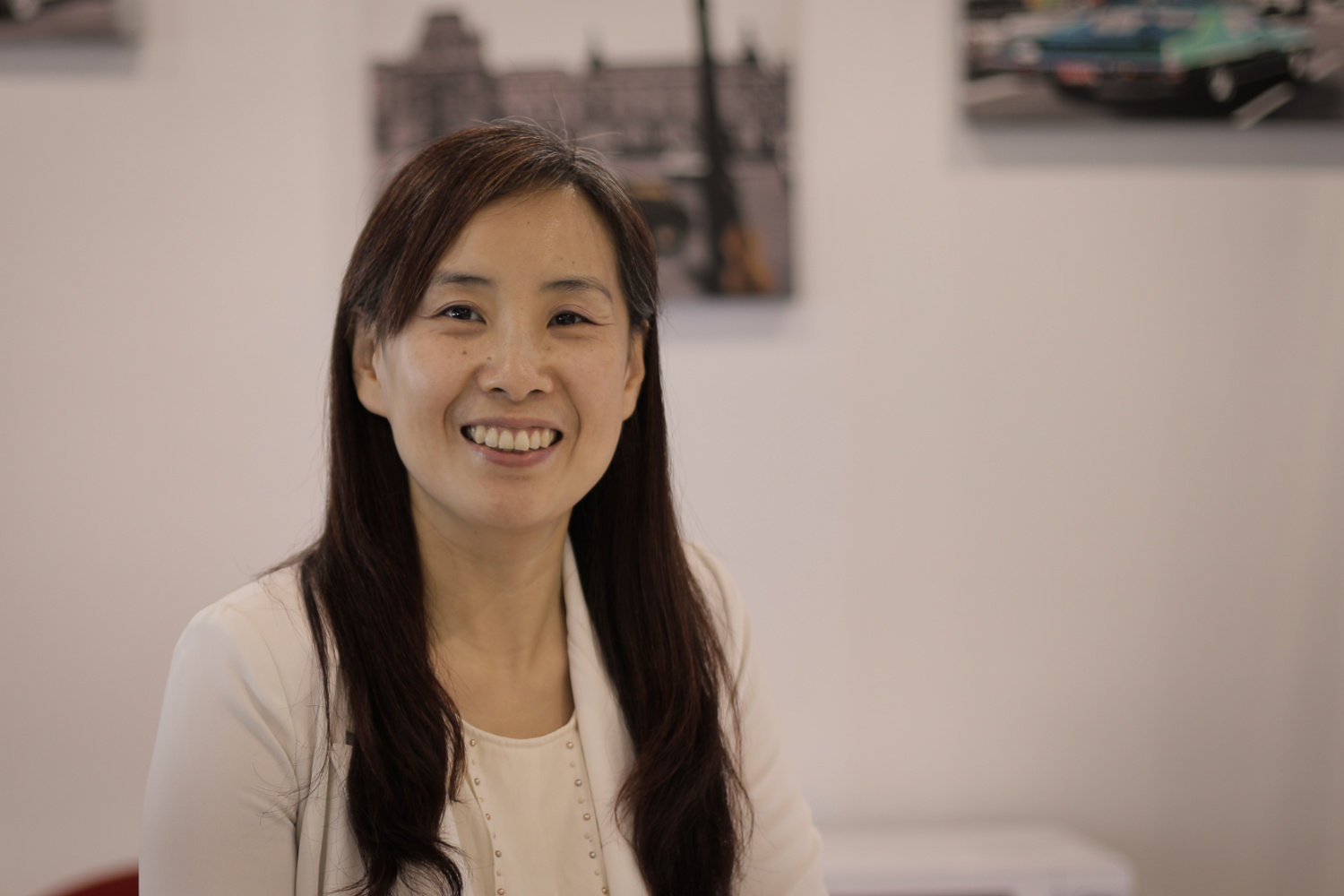 Vivian Wu, VP for Human Resources